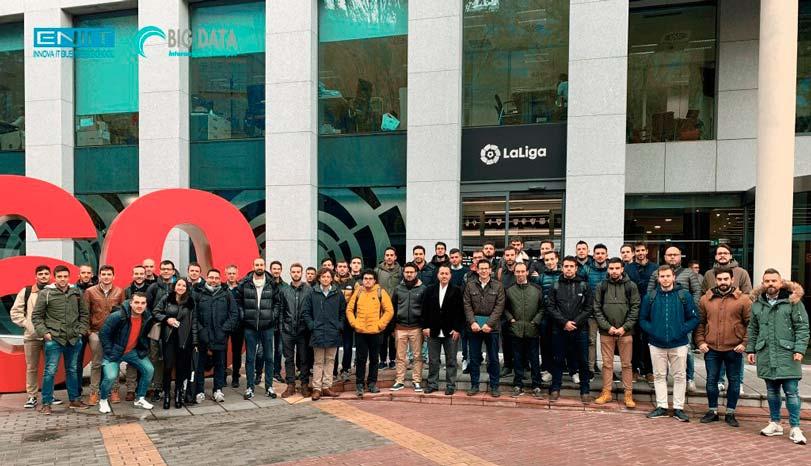 Sesiones en LaLiga de los alumnos del Máster en big data deportivo