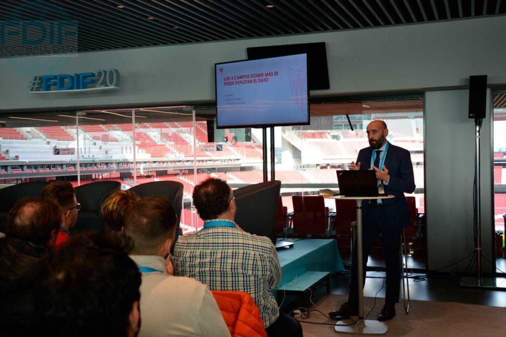 Monchi en el Football Data International Forum 2020
