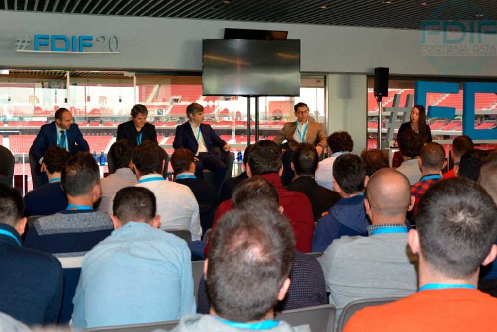 Mesa bienvenida, Football Data International Forum 2020