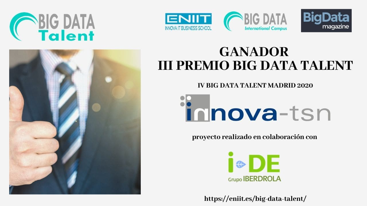 Premiados Big Data Talent 2020