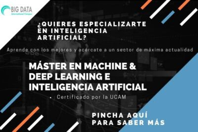 Máster en Machine Learning