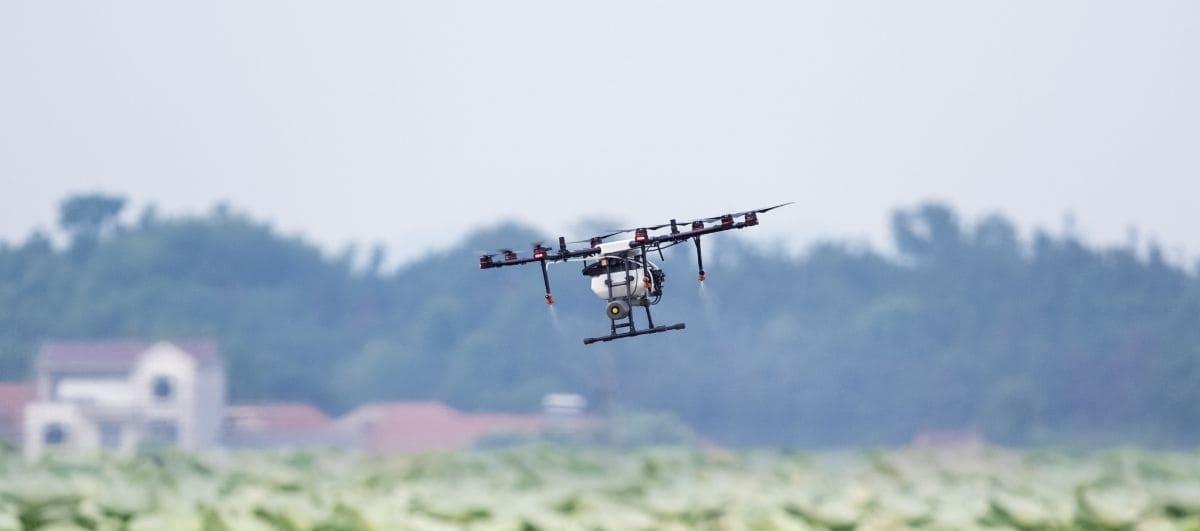 Monitorización de las parcelas desde el aire